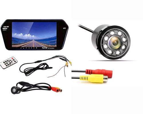 7 Inch Full HD LED Touch Screen 8 LED Reverse Camera - Sai