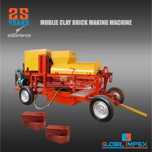 Clay Brick Machine - Red Brick Making Machine Exporter from