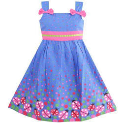 Pearl India Multi Baby Girls Stylish Frock Dress