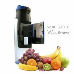 Plastic Green/Gray Eco Friendly Water Bottle, Capacity: 750 Ml