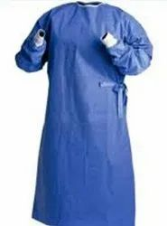 Polyester Blue Doctor Apron - Non Woven - -, For Safety & Protection, Size: Medium