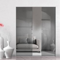 Plain Toughened Glass Door, Thickness: 10 - 12 Mm