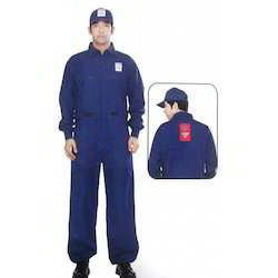 Club HP Petrol Pump Dungaree Vendor Uniform With Cap