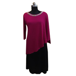 Ladies Long Woolen Dress