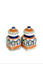 Ceramic Handpainted Pickle Jars