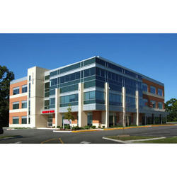 Concrete Commercial Projects Office Building Construction Service