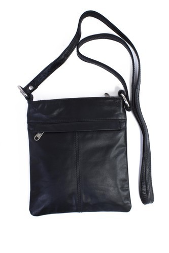 Genuine Leather Ladies Black Sling Bag 5c22f8c855169