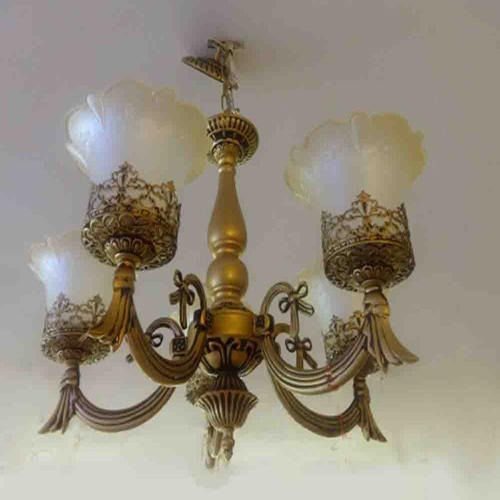 Antique Acrylic Crown  Chandler Light