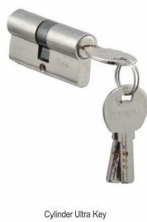 Door Lock Cylinder Computer Key