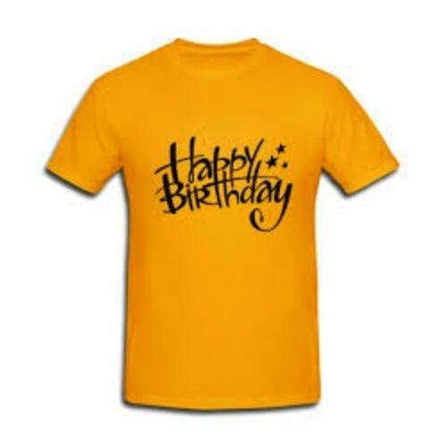 Zooks Yellow Round Neck Custom T Shirt