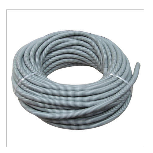 black and off white pvc flexible pipe rs 90 piece jaharvir rh indiamart com Outdoor Flexible Electrical Wire Flexible Electrical Wire Types