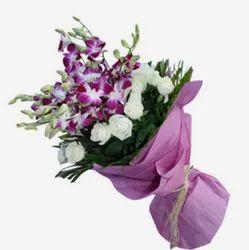Purple Orchid Bunch Flower