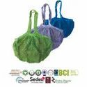 Multi Color Bio Cotton String Bags
