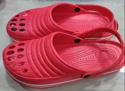 EVA Daily Wear Red Clogs Men