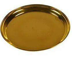 Brass China Plate