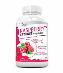 Raspberry Ketones  500 mg - 90 Veg Capsules, Packaging Type: Bottle