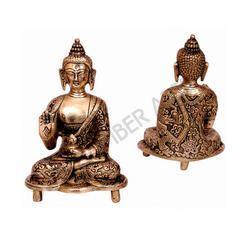 Brass Buddha Sitting Statue