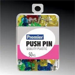 Plastic Push Pin Transparent