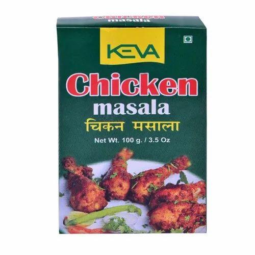 Keva Chicken Masala, Packaging Type: Box, Packaging Size: 100 g