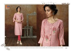 Tunic House Kangna Handloom Cotton Long Stylish Kurti Wholesale