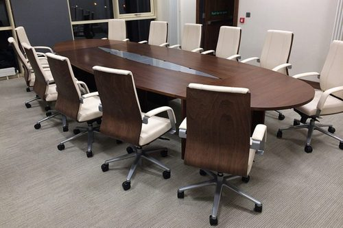 Oval Conference Table Size X Feet Rs Piece Polo - Oval conference table for 8