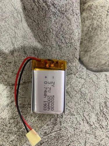 3.7V 200mAh Lithium Polymer Battery