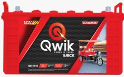 E Rickshaw Battery QER1800-120AH