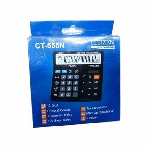 plastic citizen ct 555n calculator rs 480 piece shakshi