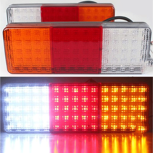 Led Truck Tail Lights >> 12 V Truck Led Tail Light