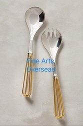 Stainless Steel Salad Server Cutlery Set