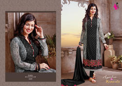 Embroidered Georgette Salwar Kameez