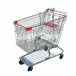 Mild Steel Shopping Trolley Shopping Trolleys, For Mall, super, market