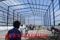 Prefabricated industrial steel structure