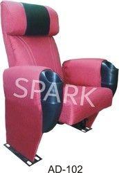 AD-102 Auditorium Push Back Chair