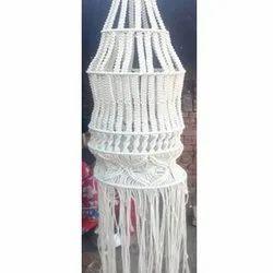 White Handmade Jhumar