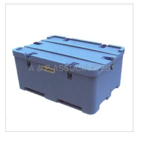 Container Large Size Blue Plastic