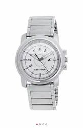 Fastrack Economy Analog White Dial Men's Watch