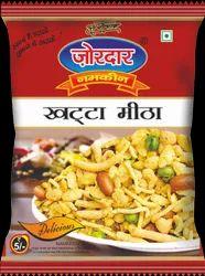 Spicy Mixture Namkeen Zordar Khatta Meetha, Packaging Size: 25g, Packaging Type: Packet