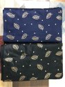 Printed Gold Print Rayon Fabric