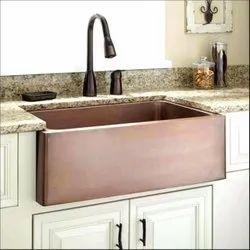 Brown Copper Wash Basin