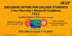 ACER  Exclusive offers for college students