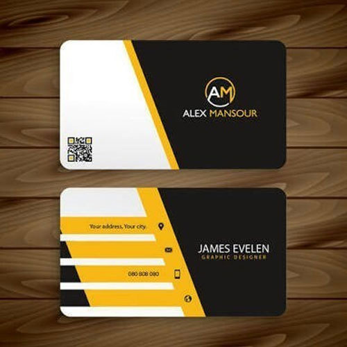 Rectangular corporate visiting card size 8554 mm rs 100 box rectangular corporate visiting card size 8554 mm reheart Images
