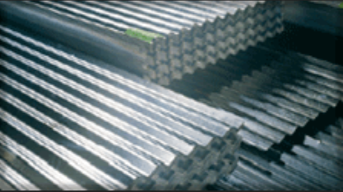 JSW Galvanized Corrugated Roofing Sheets