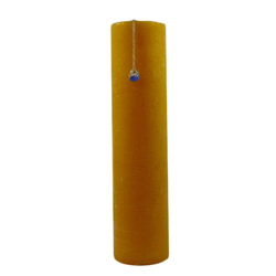 Yellow Plain Pillar Candles