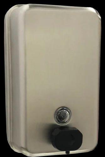 Brush Metal SS Soap Dispenser