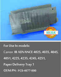 Paper Delivery Tray 1 OEM  PN : FC0-4677-000, For Use In Models : CANON IR ADVANCE 4025, 4035, 4045