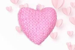 Decojewels RED Pink Heart Cushion for Hotel and Home