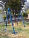 Outdoor Play Swing and Slide