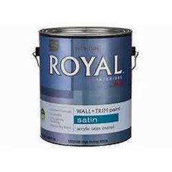Enamel Ace Royal Interiors Paint, Packaging Type: Tin