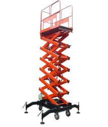 Mild Steel Hydraulic Scissor Lift
